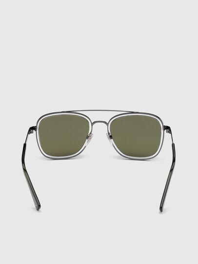Diesel - DL0320, Green - Sunglasses - Image 4