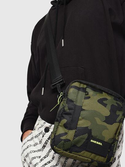 Diesel - ODERZO, Green Camouflage - Crossbody Bags - Image 7