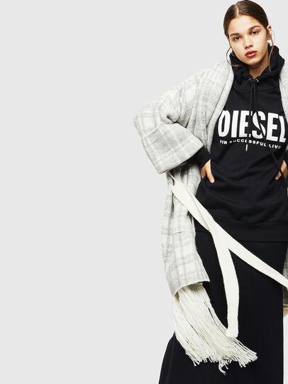 Diesel - M-BOU, Grey/White - Knitwear - Image 4