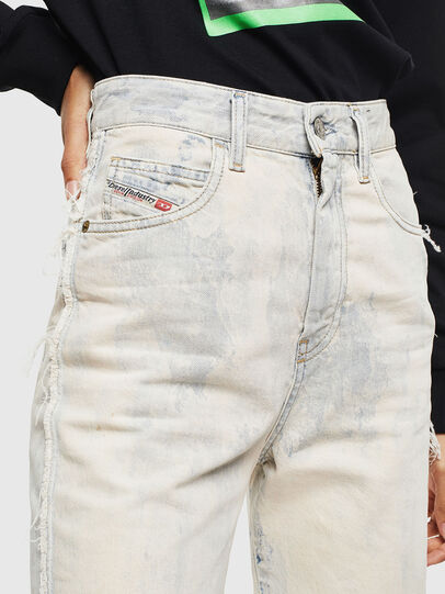 Diesel - D-Eiselle 0099P, White - Jeans - Image 5