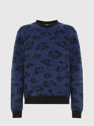 K-AZOTIC, Black/Blue - Knitwear