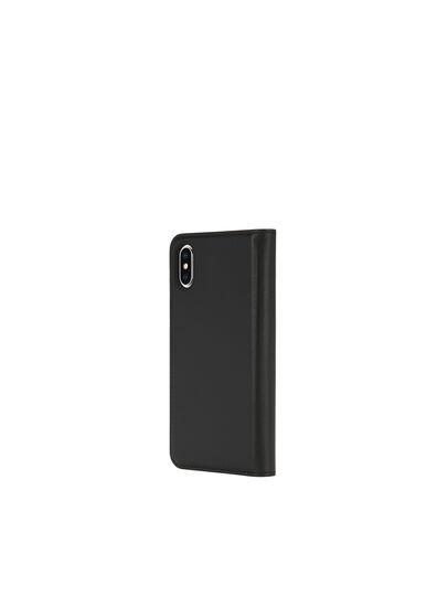 Diesel - SLIM LEATHER FOLIO IPHONE X,  - Flip covers - Image 5