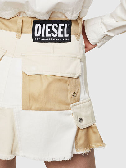 Diesel - O-AMATA-A, Cream - Skirts - Image 5