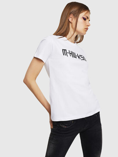 Diesel - T-SILY-WK, White - T-Shirts - Image 5