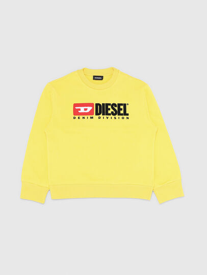 Diesel - SCREWDIVISION OVER, Yellow - Sweaters - Image 1