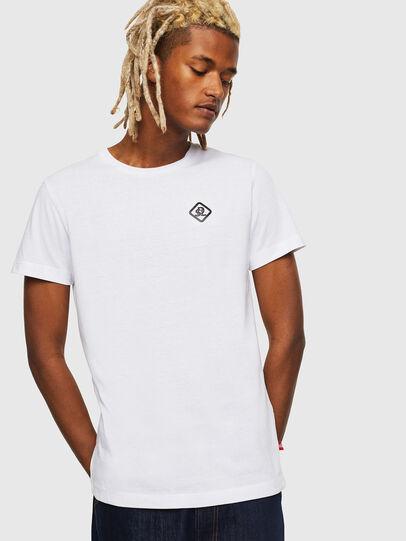Diesel - CC-T-DIEGO-COLA, White - T-Shirts - Image 1