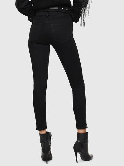 Diesel - Slandy Zip 069EF, Black/Dark grey - Jeans - Image 2