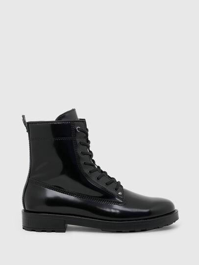 Diesel - D-THROUPER DBB ZC, Black - Boots - Image 1