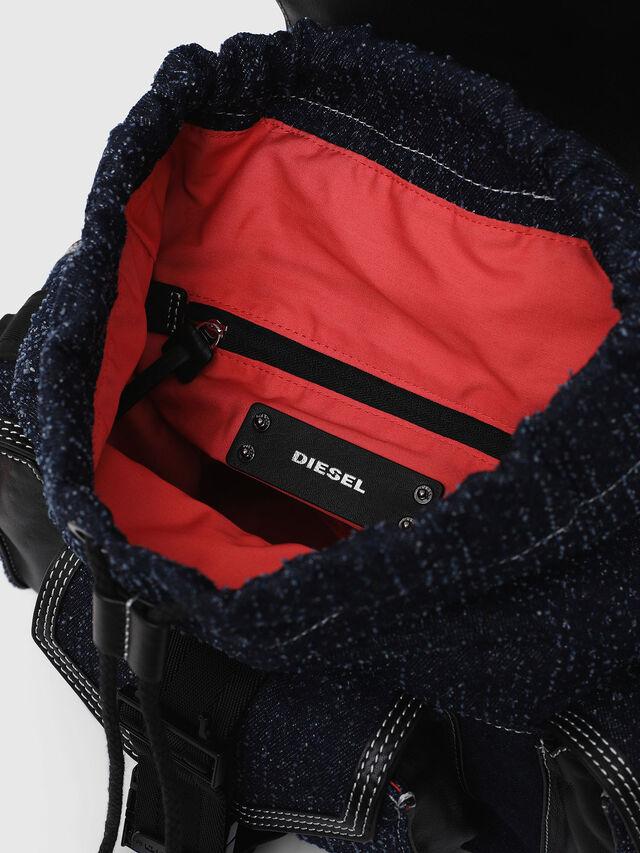 Diesel - MISS-MATCH BACKPACK, Blue Jeans - Backpacks - Image 3