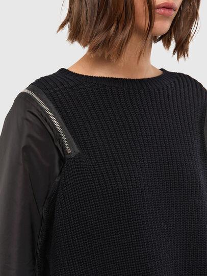 Diesel - M-CLARE, Black - Knitwear - Image 4