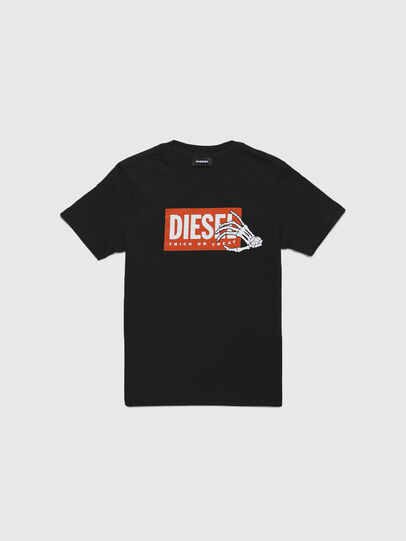 Diesel - TSKELE-TSE, Black - T-shirts and Tops - Image 1