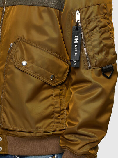 Diesel - W-LOUIS, Dark Green - Winter Jackets - Image 3