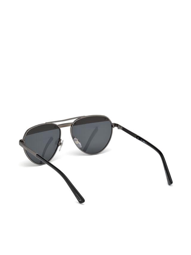 Diesel DL0261, Black/Grey - Eyewear - Image 4