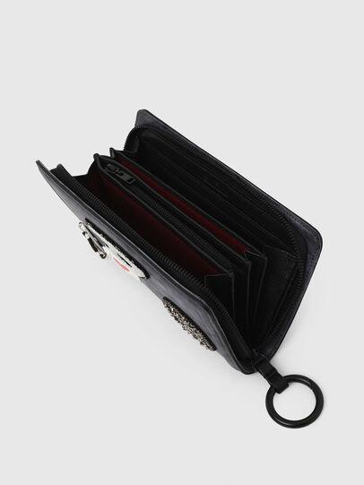 Diesel - GRANATINO, Blue - Zip-Round Wallets - Image 5