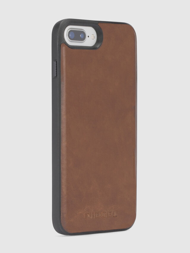 Diesel BROWN LEATHER IPHONE 8/7/6s/6 CASE, Brown Leather - Cases - Image 5