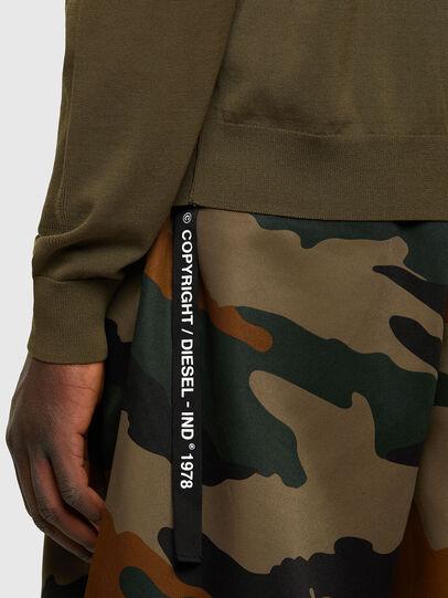 Diesel - K-NAVAJO, Military Green - Knitwear - Image 4