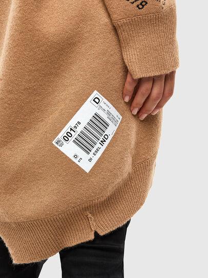 Diesel - M-ANNE, Light Brown - Knitwear - Image 7