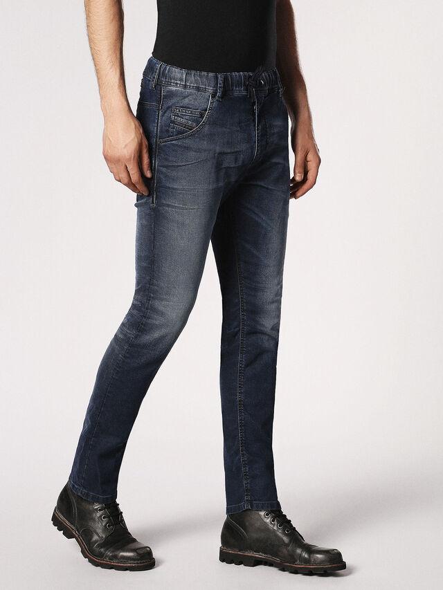 Diesel - Krooley JoggJeans 0683Y, Dark Blue - Jeans - Image 6