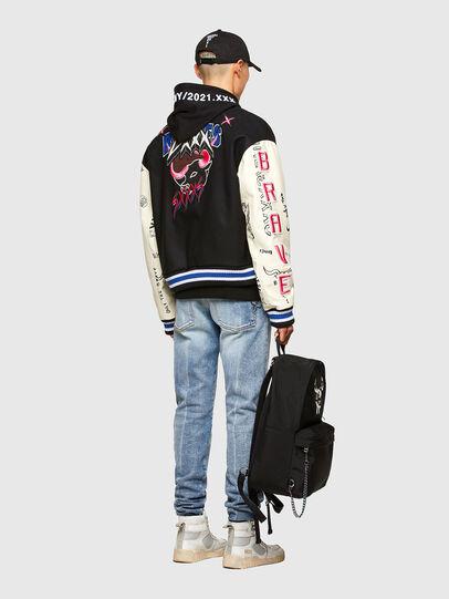 Diesel - CL-L-COHEN-O, Black - Leather jackets - Image 7