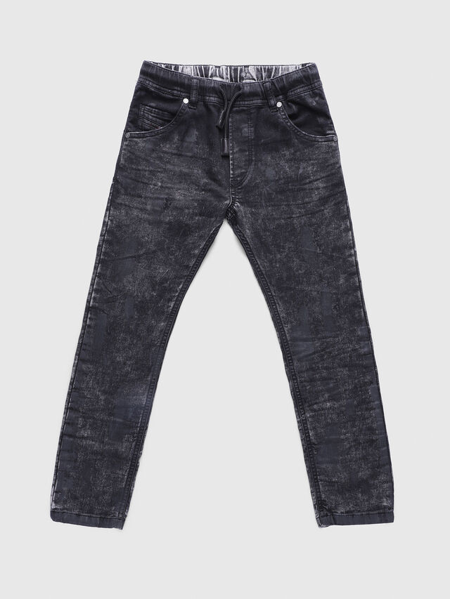 Diesel - KROOLEY-J JOGGJEANS, Black/Grey - Jeans - Image 1