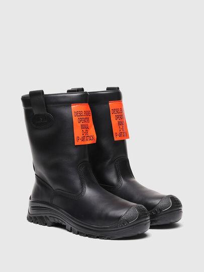 Diesel - H-WOODKUT CH, Black - Boots - Image 2