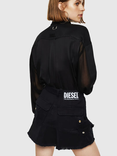 Diesel - O-AMATA-A, Black - Skirts - Image 5