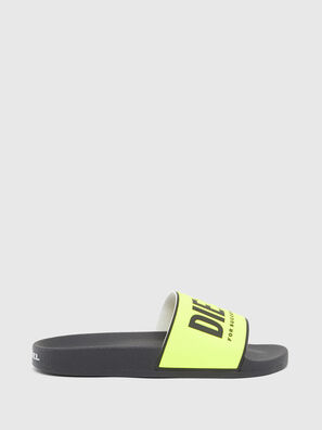 SA-VALLA, Black/Yellow - Slippers