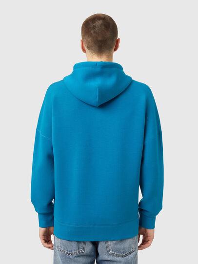 Diesel - S-KRIB-HOOD-ZIP, Blue - Sweaters - Image 2