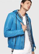 L-RESTIL, Blue Marine - Leather jackets