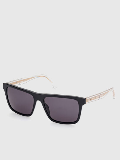 Diesel - DL0349, Black - Sunglasses - Image 2
