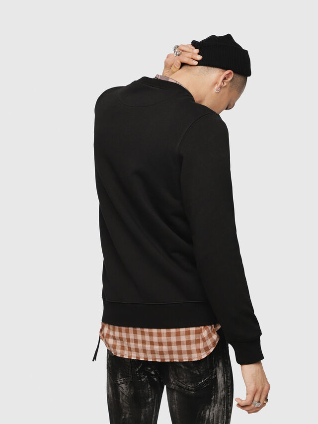 Diesel - S-GIR-YA, Black - Sweaters - Image 2
