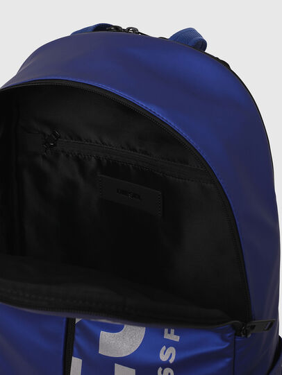 Diesel - BOLD BACK III, Blue - Backpacks - Image 4