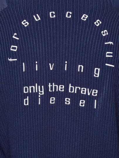 Diesel - K-GEORGE, Blue - Knitwear - Image 4