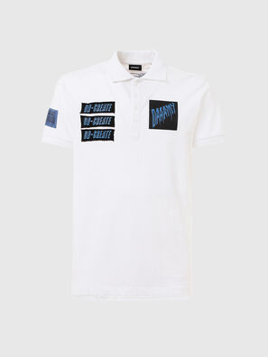 T-RALF-PATCH, White - Polos
