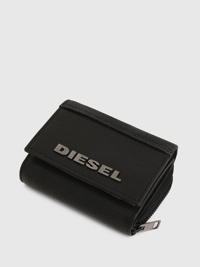 Diesel - SPEJAP, Black - Small Wallets - Image 5
