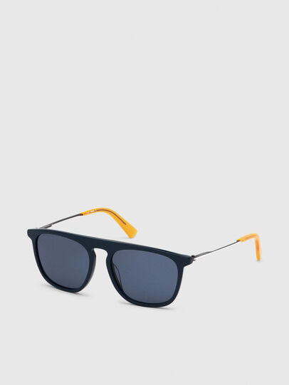 Diesel - DL0297, Blue/Yellow - Sunglasses - Image 2