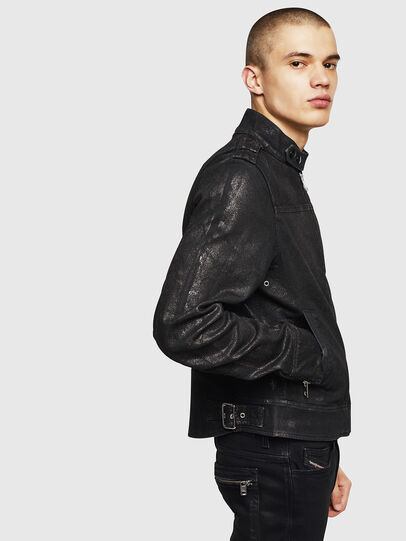 Diesel - D-JEI-SP JOGGJEANS, Black - Denim Jackets - Image 6