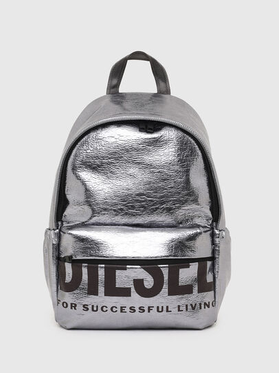 Diesel - F-BOLD BACK III, Silver - Backpacks - Image 1