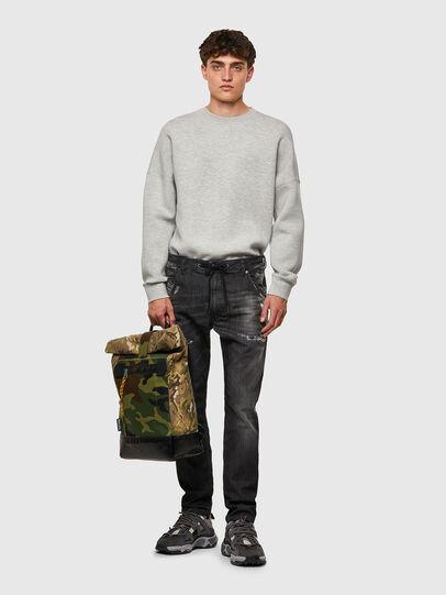 Diesel - Krooley JoggJeans® 09B53, Black/Dark grey - Jeans - Image 5