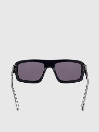 Diesel - DL0348, Black - Sunglasses - Image 4