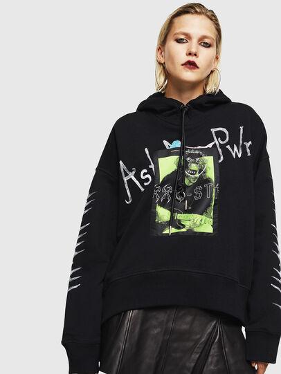 Diesel - F-MAGGY, Black - Sweaters - Image 1