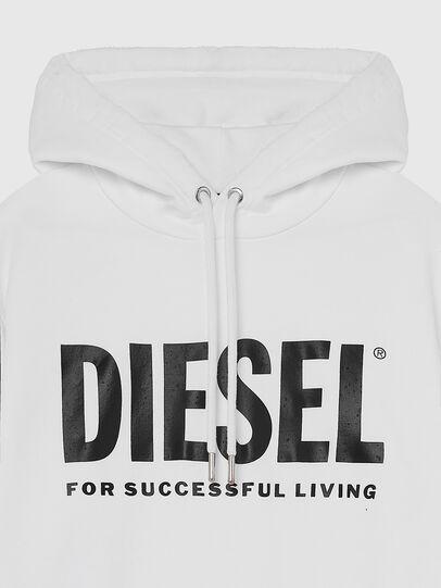 Diesel - S-GIR-HOOD-DIVISION-, White - Sweaters - Image 3