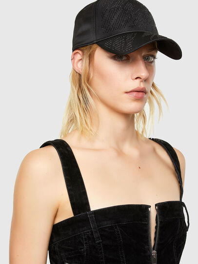 Diesel - D-VOLCANO-SP JOGGJEANS, Black/Dark grey - Dresses - Image 3