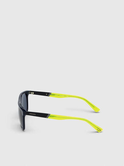 Diesel - DL0299, Blue/Yellow - Sunglasses - Image 3