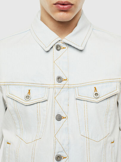 Diesel - D-GALY-F, Light Blue - Denim Jackets - Image 4