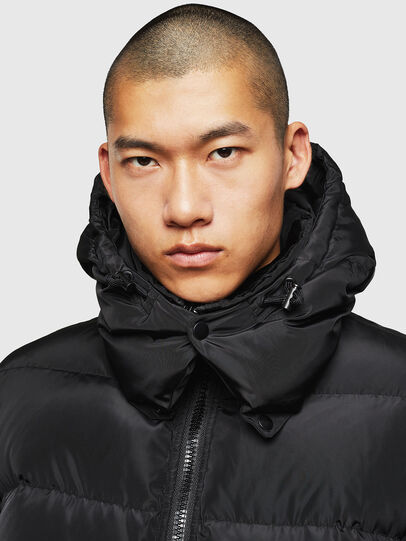Diesel - W-SMITH-YA, Black - Winter Jackets - Image 4