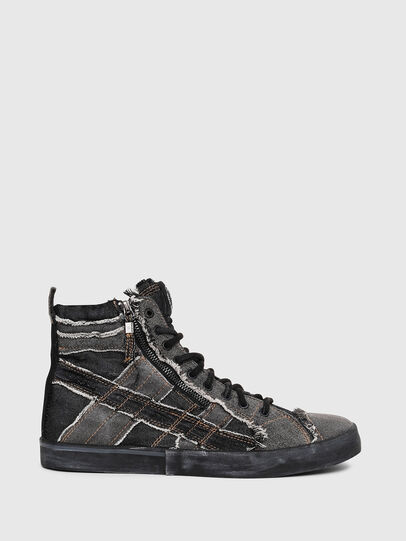 Diesel - D-VELOWS MID LACE, Grey Jeans - Sneakers - Image 1