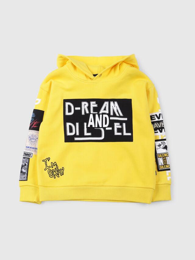 Diesel - SJACKWA OVER, Yellow - Sweaters - Image 1