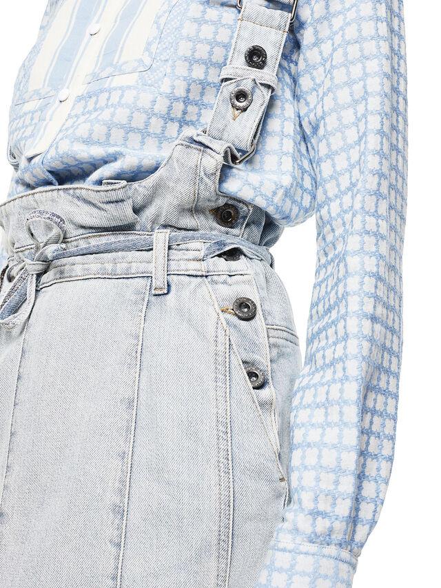 Diesel - ANNETTE, Light Blue - Skirts - Image 6