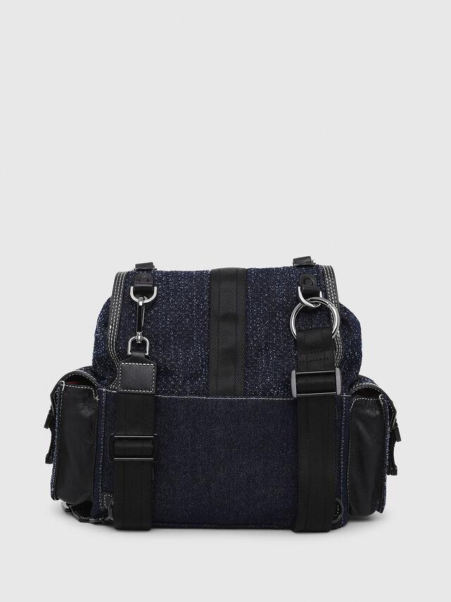 Diesel - MISS-MATCH BACKPACK, Blue Jeans - Backpacks - Image 2